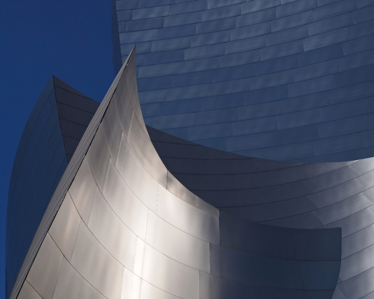 Disney Hall Abstract