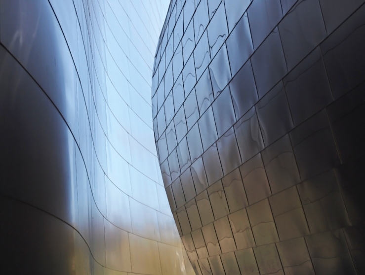 Disney Hall Abstract 2