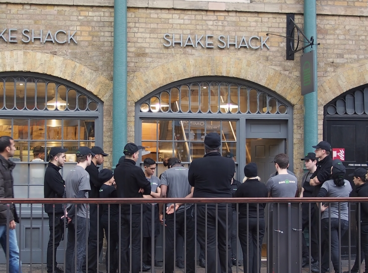 Shake Shack: Reviewing the Troups
